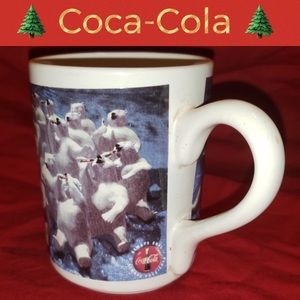 🌲Vintage Coca-Cola Coffee Mug-1997 Polar Bears